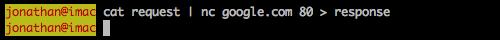 google response file